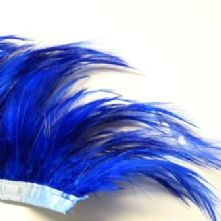 Royal Blue Full Hackle Feathers